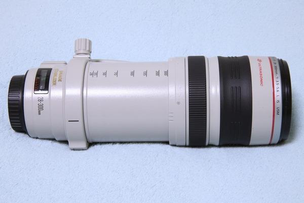EF28-300mm F3.5-5.6L IS USM 最伸長257mm