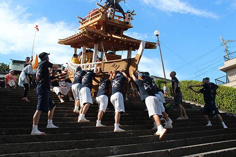 9月 場所踏み 諏訪神社 192
