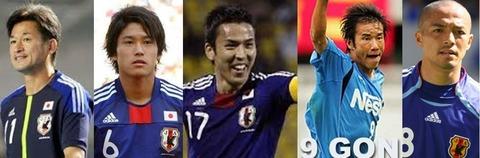 静岡県出身の僕がファンのサッカー選手たち