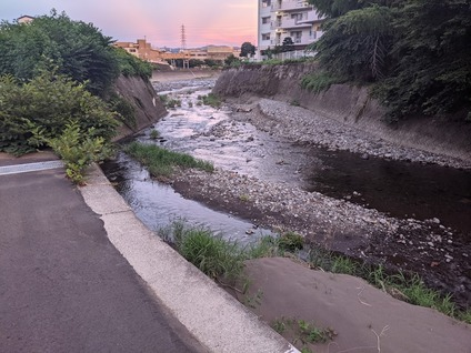 「毎夕の日課としてる近所の散歩の景色」5