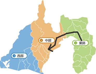 静岡県地図だ!完全修正写真画像