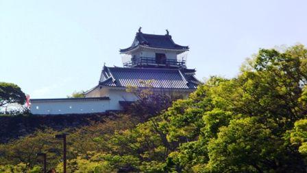静岡県浜松市の浜松城へ上る時に撮った浜松城