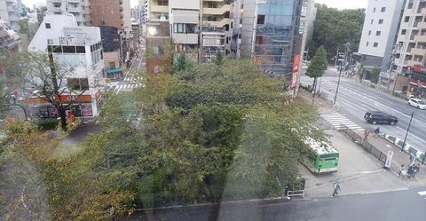 都内ホテルの窓から私が撮った写真