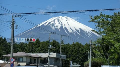 2018のGWに撮った富士山の写真 (2)