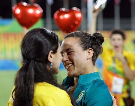 リオ五輪 女子ラグビー選手、同性から求婚