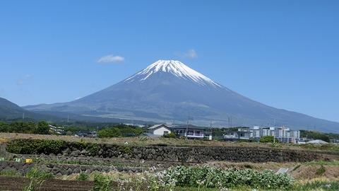 2018のGWに撮った富士山の写真 (1)