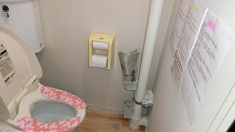 自宅トイレの壁には記述試験の重要事項まで貼って頑張って来た