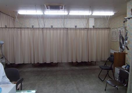 18低料金の整骨院の院内は個室マッサージ室の写真