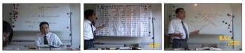 日本語教師通信講座の授業風景