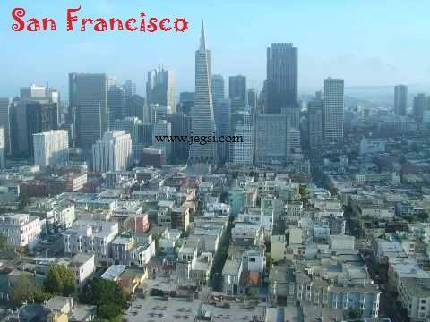 コイトタワーよりサンフランシスコダウンタウン眺望