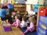 海外の幼稚園内