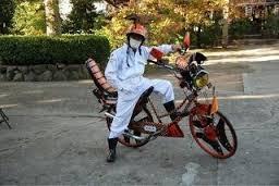 ガキの自転車