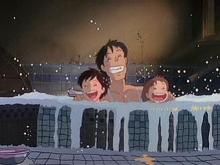 間男と彼女が風呂