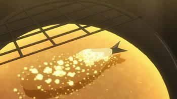 熱々の天ぷら鍋