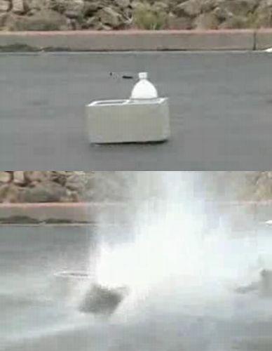 ペットボトル爆弾