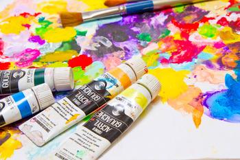 昨晩ついに、『水彩絵具』