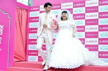 結婚式の衣装合