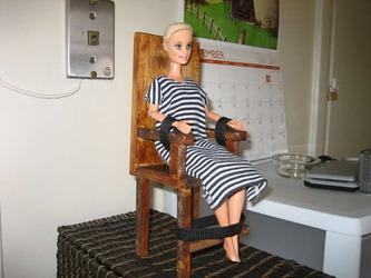 椅子に縛り付けられたクズ嫁