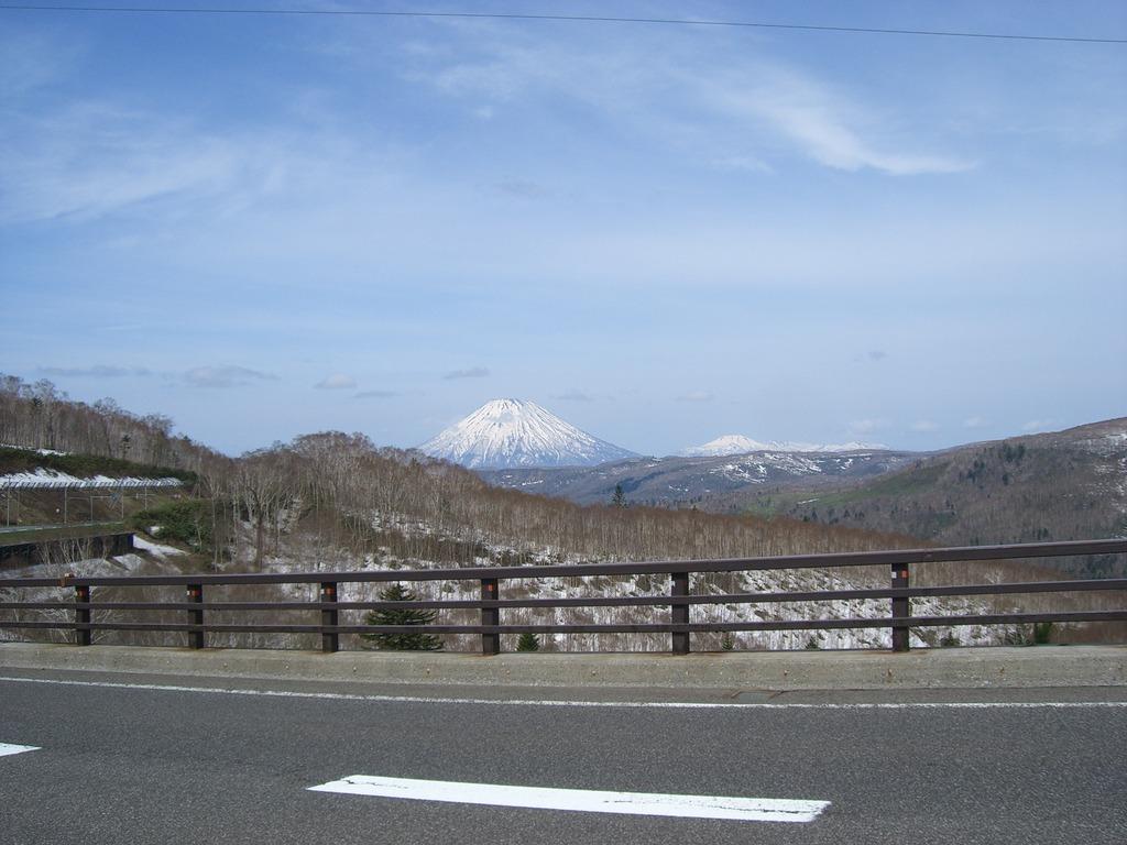 10中山峠から羊蹄山