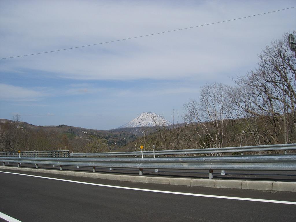 08雪の羊蹄山