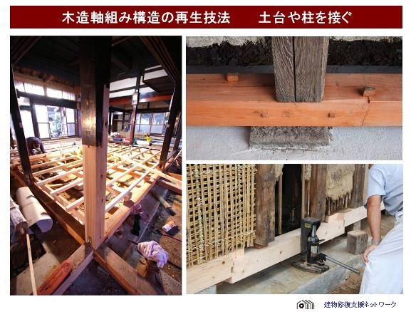 木造軸組み構造の再生small