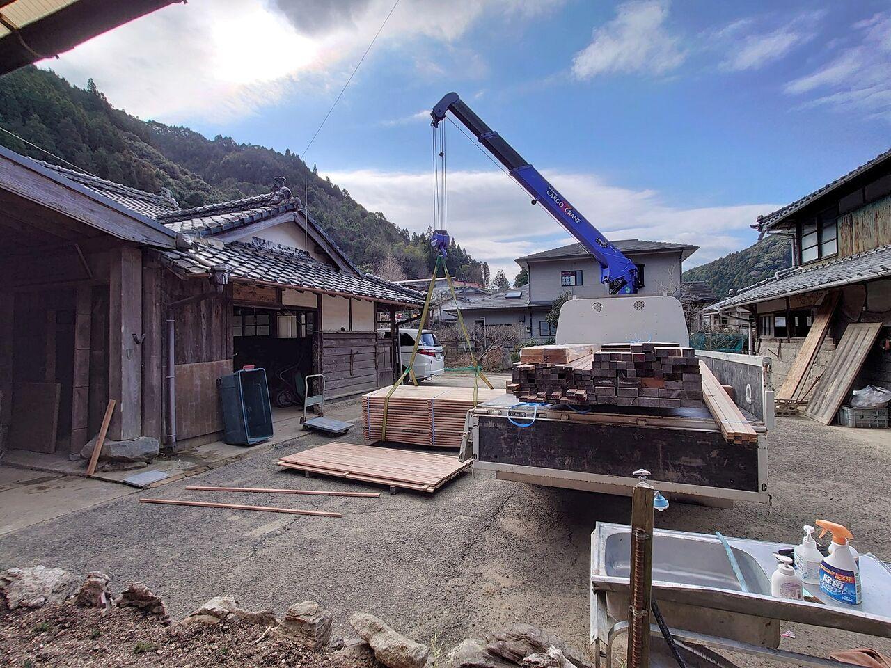 20210118資機材搬入@神瀬