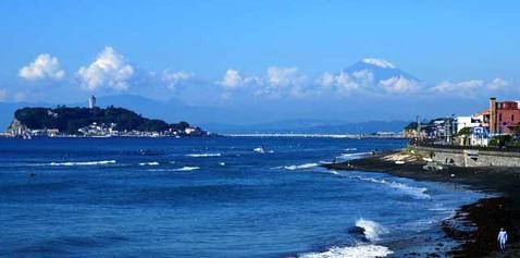 101103稲村ガ崎富士山