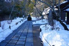 140216東慶寺雪