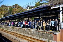 181123北鎌倉駅