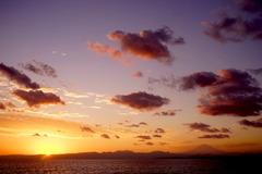 190119江の島夕日