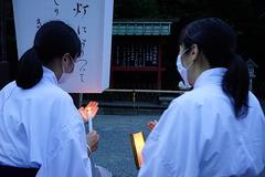 200808鶴岡八幡宮ぼんぼり祭り2