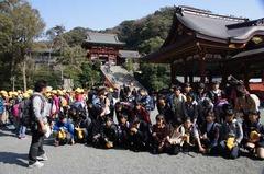121101鶴岡八幡宮修学旅行