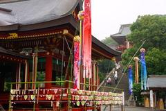 160629鶴岡八幡宮七夕飾り2