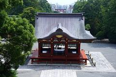 150717鶴岡八幡宮舞殿