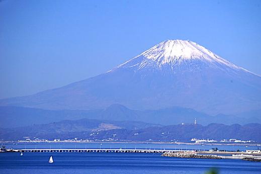 191116稲村ガ崎富士山