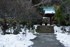 140211光則寺残雪