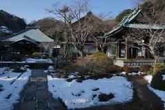 180123海蔵寺雪景色1