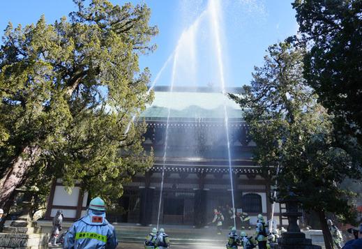 130129円覚寺消防訓練