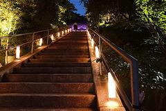 170823甘縄神明神社長谷の灯か