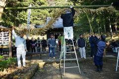 130108白山神社大注連縄祭4