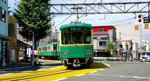 160824腰越江ノ電