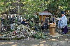 130108白山神社大注連縄祭7