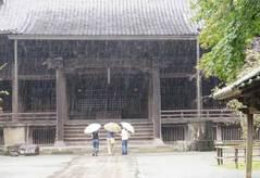 090930妙本寺雨