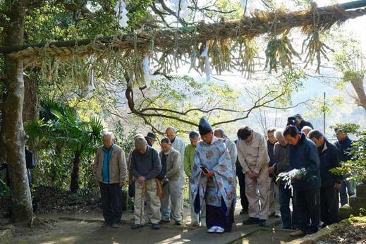 130108白山神社大注連縄祭5