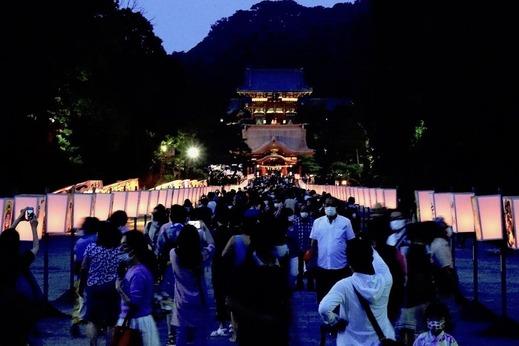 200808鶴岡八幡宮ぼんぼり祭り4