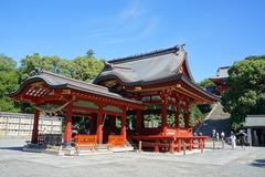 160909鶴岡八幡宮舞殿