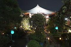 170823収玄寺長谷の灯かり