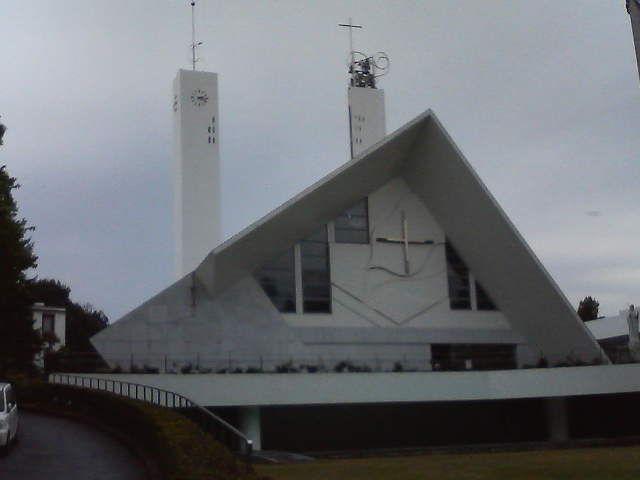 山口サビエル記念聖堂を見学しました。 44c5dee0