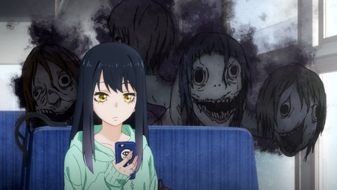 【見える子ちゃん】第3話 感想まとめ 数珠パワーで幽霊撃退!?