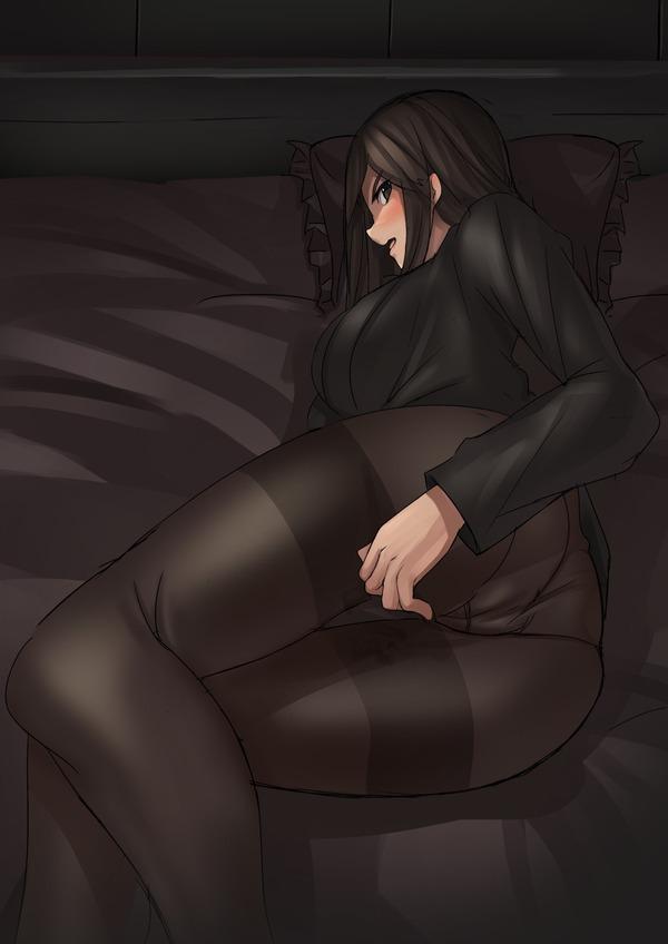 二次黒パンスト画像4 (9)